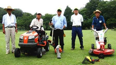 小田野公園草刈
