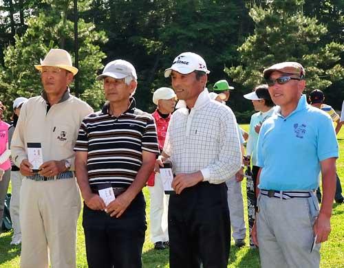 男子一般 左から優勝:松山紀夫さん、鈴木智さん